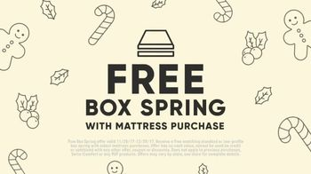 Mattress Firm Winter Slumber Sale TV Spot, 'Free Box Spring and Delivery' - Thumbnail 5