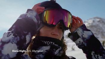 Toyota TV Spot, 'This Is Team Toyota' Ft. Lindsey Jacobellis, J.R. Celski [T1]