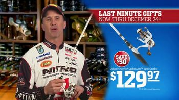 Bass Pro Shops Christmas Sale TV Spot, 'Bath Wraps, Flannel & Spin Combo' - Thumbnail 7