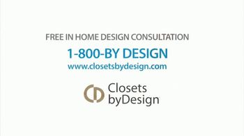 Closets by Design TV Spot, 'Organize Your Home' - Thumbnail 6
