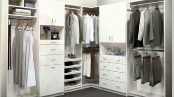 Closets by Design TV Spot, 'Organize Your Home' - Thumbnail 2