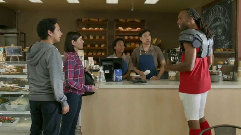 VISA TV Commercial, 'To-Go With a Tap' Featuring Larry Fitzgerald