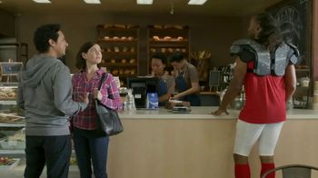 VISA TV Spot, 'To-Go With a Tap' Featuring Larry Fitzgerald - Thumbnail 2