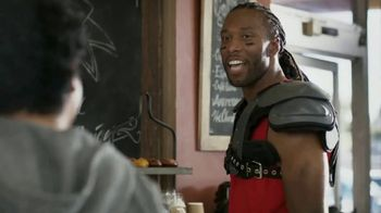 VISA TV Spot, 'To-Go With a Tap' Featuring Larry Fitzgerald - Thumbnail 3