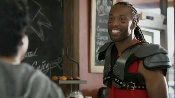 VISA TV Spot, 'To-Go With a Tap' Featuring Larry Fitzgerald - Thumbnail 4
