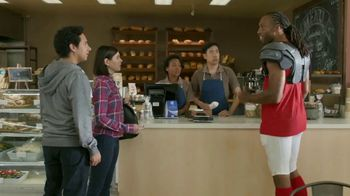 VISA TV Spot, 'To-Go With a Tap' Featuring Larry Fitzgerald - 221 commercial airings