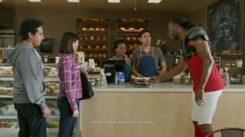 VISA TV Spot, 'To-Go With a Tap' Featuring Larry Fitzgerald - Thumbnail 7