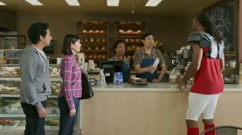 VISA TV Spot, 'To-Go With a Tap' Featuring Larry Fitzgerald - Thumbnail 9