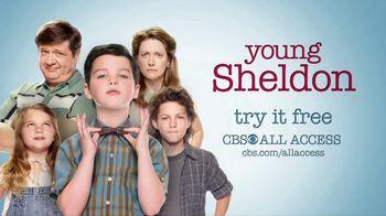 CBS All Access TV Spot, 'Young Sheldon'