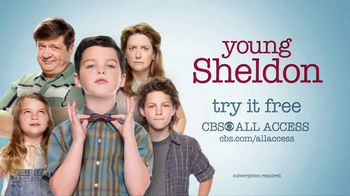 CBS All Access TV Spot, 'Young Sheldon' - Thumbnail 7