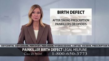 Cooney & Conway TV Spot, 'Painkiller Birth Defect'