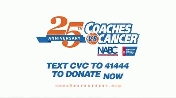 Coaches vs. Cancer TV Spot, '25th Anniversary' Feat. Frank Martin, Tom Izzo - Thumbnail 8