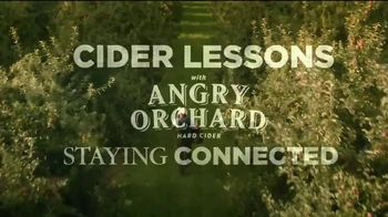 Angry Orchard TV Spot, 'Cider Lessons: Staying Connected'