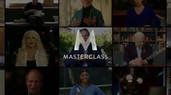 Masterclass TV Spot, 'Greatest Masters' Ft. Christina Aguilera, Steph Curry