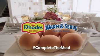 Rhodes Bake-N-Serv TV Spot, 'Complete the Meal: Warm and Serve' - Thumbnail 8