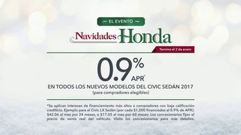 El Evento Navidades Honda TV Spot, 'Christmas Card' [Spanish] [T2] - Thumbnail 9