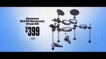 Guitar Center TV Spot, 'Holiday Savings: Drum Gear' - Thumbnail 3