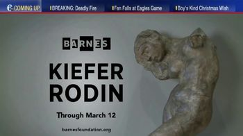 The Barnes Foundation TV Spot, 'Kiefer Rodin Exhibition' - Thumbnail 7