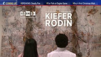 The Barnes Foundation TV Spot, 'Kiefer Rodin Exhibition' - Thumbnail 1