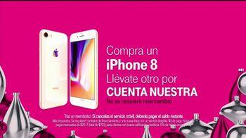 T-Mobile Unlimited TV Spot, 'Llévate un iPhone 8' [Spanish] - Thumbnail 7