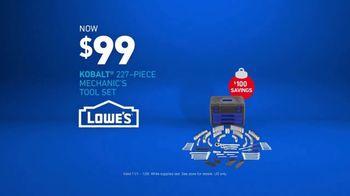 Lowe's TV Spot, 'Gift Giver: Kobalt Mechanic's Tool Set' - Thumbnail 10