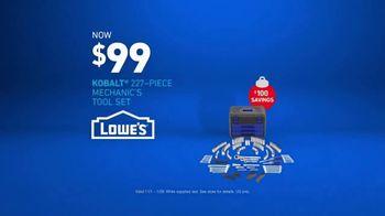 Lowe's TV Spot, 'Gift Giver: Kobalt Mechanic's Tool Set' - Thumbnail 9