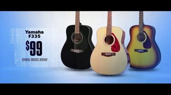 Guitar Center TV Spot, 'Great Selection of Beginner Instruments' - Thumbnail 6
