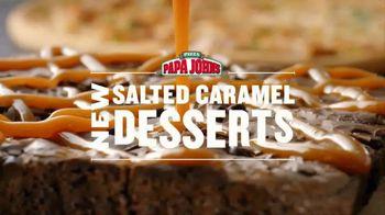 Papa John's Salted Caramel Desserts TV Spot, 'Dessert to Match' - Thumbnail 3