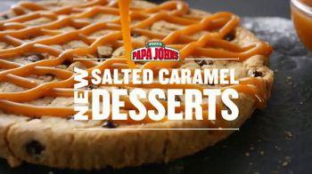 Papa John's Salted Caramel Desserts TV Spot, 'Dessert to Match' - Thumbnail 4