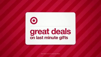 Target Weekend Deals TV Spot, 'Last Minute Gifts' - 1477 commercial airings
