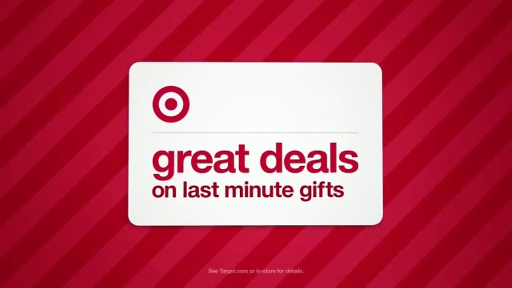 Target Weekend Deals TV Commercial, 'Last Minute Gifts'