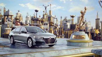 2018 Honda Accord TV Spot, 'Tower of Success' - Thumbnail 8