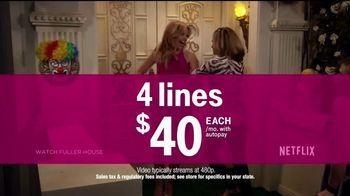 T-Mobile TV Spot, 'Family Plans Include Netflix' - Thumbnail 3