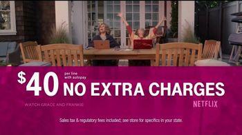 T-Mobile TV Spot, 'Family Plans Include Netflix' - Thumbnail 8