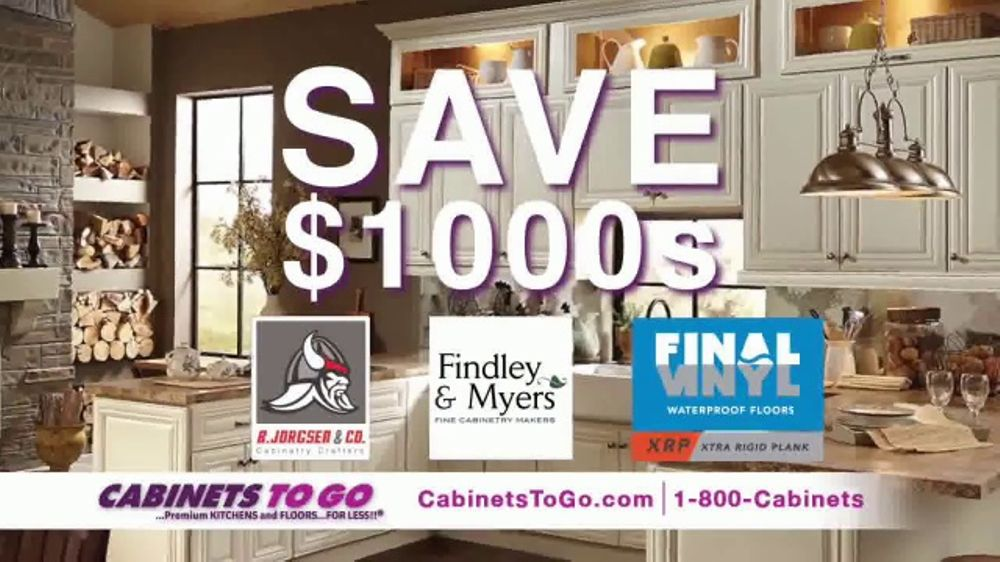 Cabinets To Go Buy More, Save More Sale TV Commercial, U0027Save $1000su0027 Ft.  Bob Vila   ISpot.tv