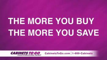 Cabinets To Go Buy More, Save More Sale TV Spot, 'Save $1000s' Ft. Bob Vila - Thumbnail 2