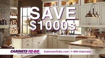 Cabinets To Go Buy More, Save More Sale TV Spot, 'Save $1000s' Ft. Bob Vila - Thumbnail 3