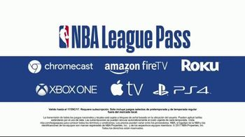 NBA League Pass TV Spot, 'Cuando sea y donde sea' [Spanish] - Thumbnail 8