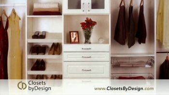 Closets by Design TV Spot, 'Transform Your Home'