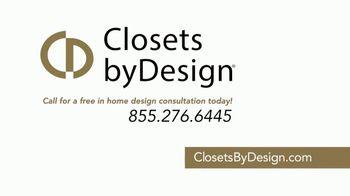 Closets by Design TV Spot, 'Transform Your Home' - Thumbnail 8