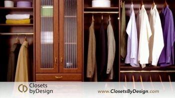 Closets by Design TV Spot, 'Transform Your Home' - Thumbnail 2