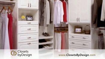Closets by Design TV Spot, 'Transform Your Home' - Thumbnail 3