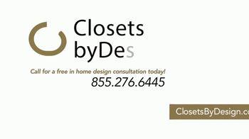 Closets by Design TV Spot, 'Transform Your Home' - Thumbnail 7