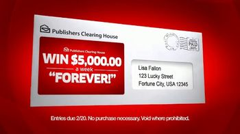 Publishers Clearing House TV Spot, 'Don't Miss Out A: Feb 2018' - Thumbnail 8