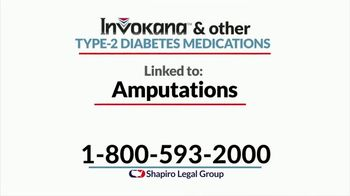 Shapiro Legal Group TV Spot, 'Amputations' - Thumbnail 2