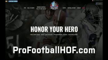 Pro Football Hall of Fame TV Spot, 'Huddle Up' - Thumbnail 1