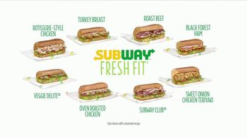 Subway Fresh Fit TV Spot, 'In With the Fresh' - Thumbnail 5