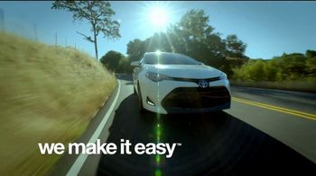 Toyota We Make It Easy Sales Event TV Spot, 'A Joy to Drive' [T2] - Thumbnail 10