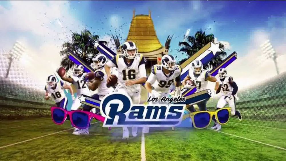 2018 NFL Playoffs TV Commercial, 'Rams Playoff Picture' Song by Rae Sremmurd