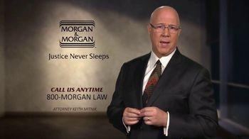 Morgan & Morgan Law Firm TV Spot, 'Justice Never Sleeps'